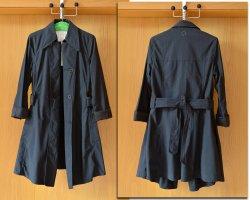 Yohji Yamamoto Trench Coat multicolored cotton