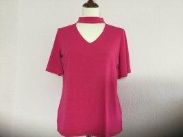 Comma Blusenshirt Shirt pink Gr. 36 KA ausgefallen schöne Details