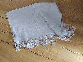 Comma Wollen sjaal licht beige