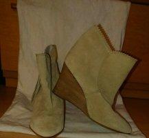 Comptoir des cotonniers, Schuhe, Stiefelette, Beige, Gr. 38, Leicht, Spitz