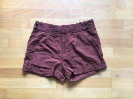 Comptoir des Cotonniers Shorts kurze Hose dunkelrot rost Gr. 38 S