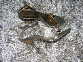 Conley`s by Salvador Sapena Leder Sandalen High Heels Bronze 37