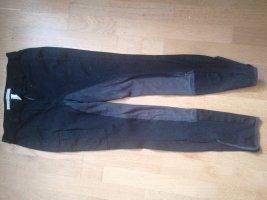 Convalenzo Pantalon d'équitation noir-gris foncé