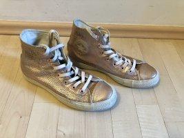 Converse All Star Hi Snake Rose Gold 39 Metallic Sneaker Reptil