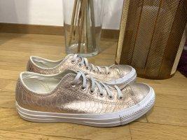 Converse Instapsneakers lichtroze-wit