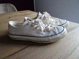 Converse All Star Leder,Creme,Chucks,37,5,Schuhe