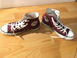 Converse High top sneaker paars