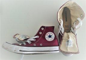 Converse High Top Sneaker bordeaux