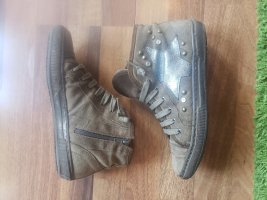 Converse Chuck Sneaker Schuhe Leder Braun