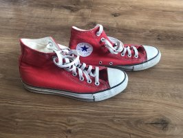 Converse High Top Sneaker red-white