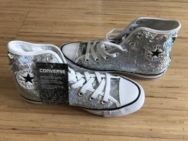 Converse Skater Shoes silver-colored