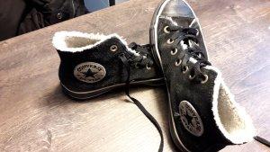 Converse Chucks Gr.38 schwarz Wildleder inkl.Fell