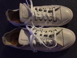 Converse chucks low weiß Leder 38