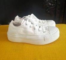 Converse Sneakers met hak wit