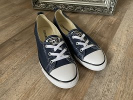 Converse Damen Sneaker Chuck Taylor All Star Ballet Lace Ox, blau