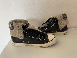 Converse Winter Booties black-white