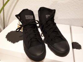 Converse High Sneakers Gr.41 all Over Schwarz Black Biker Basic