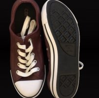 Converse Sneaker dunkelrot *NEU