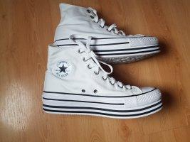 Converse weiß Plateau Gr. 41 neuwertig Sneaker All Star Chucks High Top