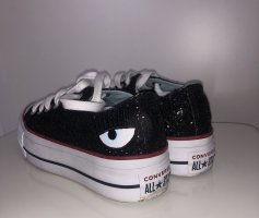 Chiara Ferragni Sneakers met veters zwart-wit