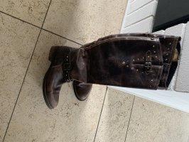 Hilfiger Denim Buty w stylu western jasnobrązowy-brązowy