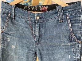 G-Star Raw Pantalone cinque tasche blu acciaio Cotone