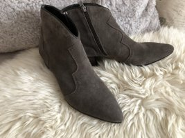 ASH Booties grey brown leather