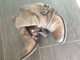 Airstep Chelsea laarzen grijs-bruin Leer