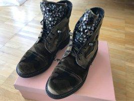 Alma en Pena Wciągane buty za kostkę Wielokolorowy