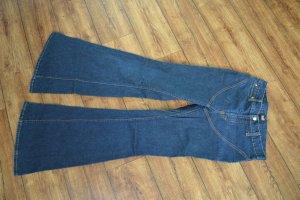 Dolce & Gabbana Jeans a zampa d'elefante blu scuro