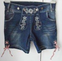 coole Esmara Trachten Jeans Shorts Gr. 38 nur 1 x getragen