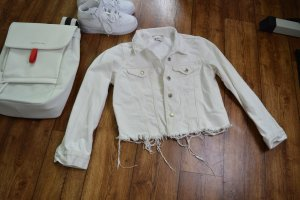 Coole Gina Tricot Jeansjacke weiss Gr. 38