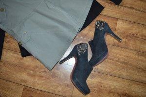 Coole Graceland-Schuhe Gr. 40 schwarz gold