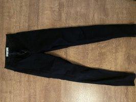 Topshop Jeans taille haute noir