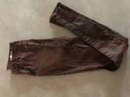 Guess Skinny Jeans brown violet