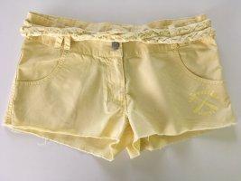 Bench Short moulant jaune primevère coton