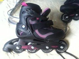 Buty motocyklowe magenta-czarny