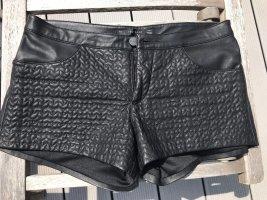 Coole Kunstleder Hotpant, Zara, Größe S