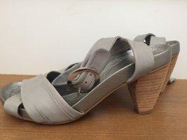 Coole Leder-Sandalette