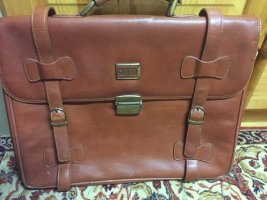 College Bag camel leather