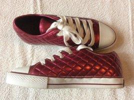 Coole magenta-metallic Sneaker. Neu!