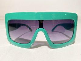 Coole Oversize Vintage-Sonnenbrille von Stimorol in Grün