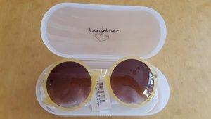 coole, runde, stylische, gelbe Brille von Palapas NEU