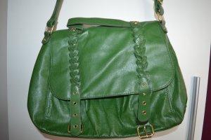 Coole Shopper Tasche in grün von H&M