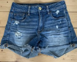 American Eagle Outfitters Spijkershort donkerblauw