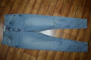 Coole Skinny Jeans Topshop Moto Jamie mit Cut