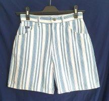 Lee Shorts white-azure cotton