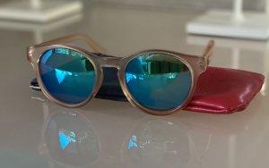 Le Specs Gafas de sol redondas rosa