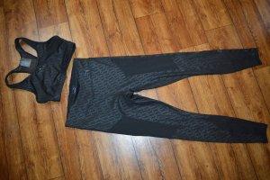 Puma Pantalone da ginnastica nero-antracite