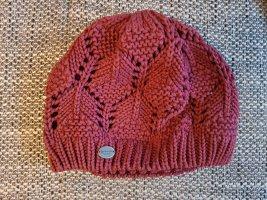 Burton Crochet Cap cognac-coloured